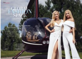 Журнал Touch: Global Fashion Space — новый образ супермодели
