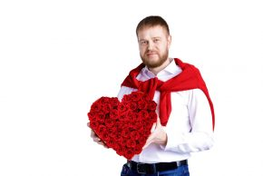 """Лідер """"Батьківщини"""" Сумщини Вадим Лисий вітає жінок зі святом весни"""